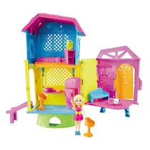 Casa Da Polly Super Clubehouse Mattel C/ Nota Fiscal