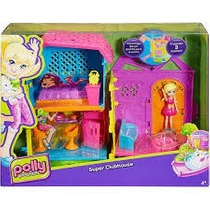 Casa Da Polly Pocket Super Clubhouse Mattel