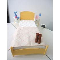 Dormitório Da Barbie,cama,jogo De Quarto,item Colecionável