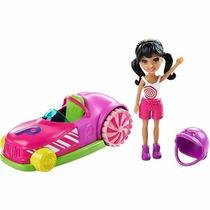 Polly Pocket Carro Gira-gira E Crissy Mattel