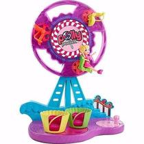 Boneca Polly Pocket Kit Parque Roda Gigante Mattel Promoção