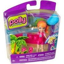 Boneca Polly Pocket C/acessórios Lea Prancha De Surf Mattel