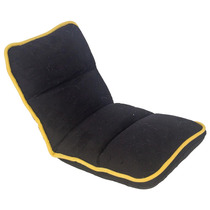 Cadeira Reclinável De Chão Infantil Preta Fullway