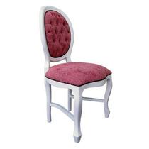 Cadeira Medalhão Lisa Da Fabrica Escolha A Pintura E Tecidos