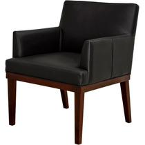 Poltrona Vitória Decorativa Para Sala Recepção Cadeira Sofá