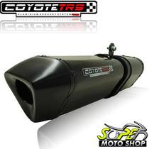 Escape Ponteira Coyote Trs Tri-oval F 800 Gs Até 12 Pt Black