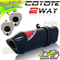 Escape Ponteira Coyote Trs 2 Way Cg 150 Titan Fan Ex 09/13