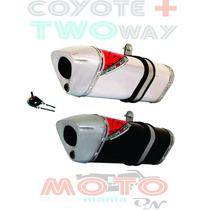 Escape / Ponteira Coyote Trs 2 Two Way + Cb 300 - Desconto