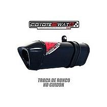 Escapamento Esportivo Ponteira Cb 500r Coyote Black Twoway +