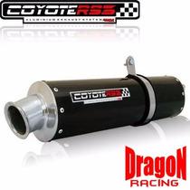 Escape Ponteira Roncar Coyote Rs3 Oval Twister Cbx 250 Preto