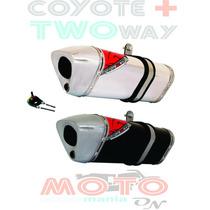 Escape / Ponteira Coyote Trs 2 Two Way + Bros150 09 Desconto