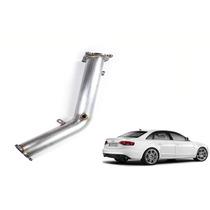 Downpipe Audi A4 1.8 Turbo Novo Tfsi Inox 409 2.5 Polegadas
