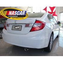 Ponteira Esportiva Honda Civic Em Aço Inox 304 Lindíssima !!