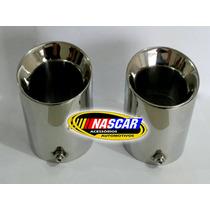 Ponteiras Automotivas Em Aço Inox 304 P/ Todos Os Modelos !!