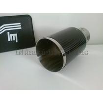 Ponteira Esportiva 4 Pol Luzian Inox Com Fibra De Carbono