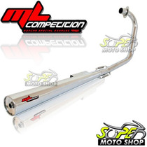 Escapamento Estralador Ml Competition Cg 125 Fan 05/08 Honda