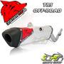 Escape Ponteira Coyote Trs Off-road Aluminio Drz 400 08... S