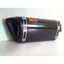 Ponteira Wr Extreme Cb 300 , Cb300 Preto Brilho 22cm