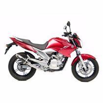 Escape Full Leovince Corsa Yamaha Fazer 250 (10-14) Carbono