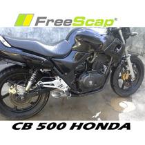 Escape Ponteira Cb 500 Antiga Carburada Com Db Killer Inox