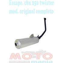 Escape Cbx 250 Twister Completo