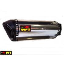 Escapamento Ponteira Yamaha Fazer 250 Wr Extreme Aluminio