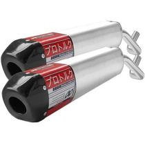 Ponteira Dupla Xt 660 Pro Tork V-pro Em Alúminio + Brinde