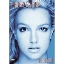 Dvd Britney Spears: In The Zone [eua] Novo Lacrado