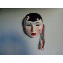 Mascara De Parede Em Porcelana Para Decoração