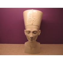 Nefertiti. Busto Em Porcelana Rosenthal. 24 Cm