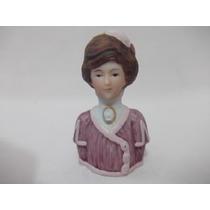 B.antigo-boneca Half Dool Ou Meio Busto Em Biskui Avon 1982