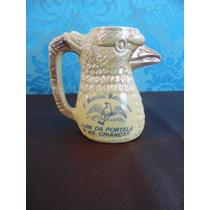 Antiga Caneca Porcelana - Aguia