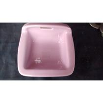 Saboneteira Porta Sabonete Rosa Estilo Antigo Banheiro