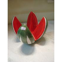 #3316# Fruteira Porcelana Melancia, Antiga!!!
