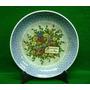 Porcelana Prato De Bolo Antigo São Caetano Verde C/ Dourado