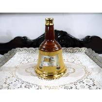 Antiga Garrafa De Wisky Bells 23cm