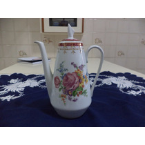 Lindo E Antigo Bule De Café Porcelana Steatita