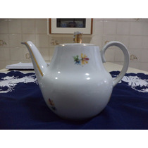 Bule De Chá Porcelana Maua .
