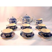 Antigo Jogo De Chá Café Em Porcelana Japonesa Raro Década 30
