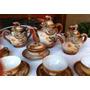 Antigo Conjunto De Chá/café Japonês Dragões Auto Relevo