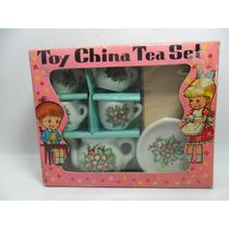 Miniatura De Aparelho De Chá Made In Japão.