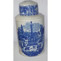 Vaso Craquelado Peça Exclusiva Em Porcelana 40 Cm