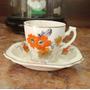 Raríssima Xícara De Café De Porcelana Inglesa -- Sec Ixx