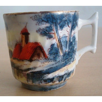 A2783 Xicara De Café Francesa ``w G C`` De Limoges, Em Porce
