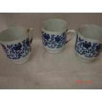 Decoraçãoantigo Conjunto 3 Xicaras Porcelana Melitta Germany