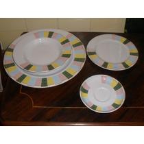 Pratos De Jantar - Porcelana Portuguesa Vista Alegre