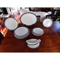 Jogo Jantar 18 Peças Porcelana Argentina Hartford