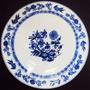 Prato Para Bolo Grande Porcelana Steatita Cebolinha Meissen