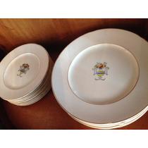 Antigo Jogo De Jantar England 44 Peças R$900,00