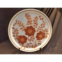 Prato De Bolo De Porcelana Schmidt - 26 Cm